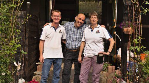 Uwe Baumann, Housine Quadday, Sabine Schädel | Naturfreundehaus Billtalhöhe | Waldgaststätte | Königstein im Taunus