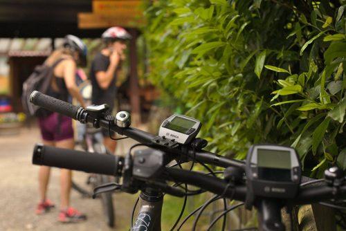 Fahrräder und Radfahrer | Naturfreundehaus Billtalhöhe | Waldgaststätte | Königstein im Taunus