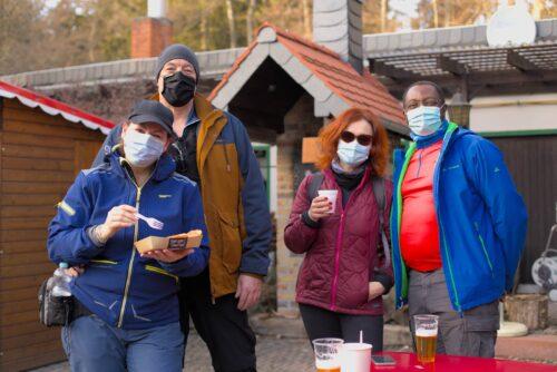 Gäste im Naturfreundehaus, Februar 2021