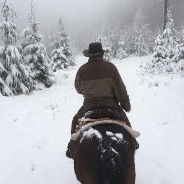 Winter auf dem Pferd | Naturfreundehaus Billtalhöhe | Waldgaststätte | Königstein im Taunus